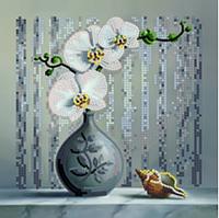 Вышивка бисером Орхидея (Цветы)