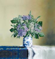 Вышивка бисером Букет сирени (Цветы)