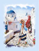 Вышивка бисером Гречские каникулы (Люди)