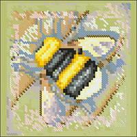 Схема на канве для вышивания крестом Пчелка 1