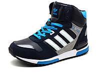 Зимние кроссовки реплика Adidas ZX700 на меху, фото 1