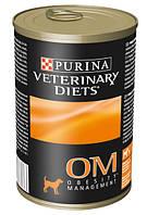 Purina (Пурина) Purina Veterinary Diets OM Obesity Лечебный корм для снижения избыточного веса 400 г