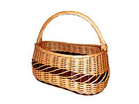Плетена корзина ручной работы из лозы, фото 1