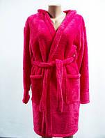 Махровый женский халат больших размеров