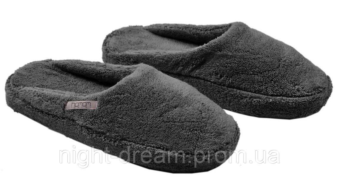 Махровые тапочки SULTAN  от Hamam DARK GREY размер 38-39