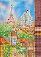 """Схема для вышивания бисером на художественном холсте """"Весна в Париже"""""""