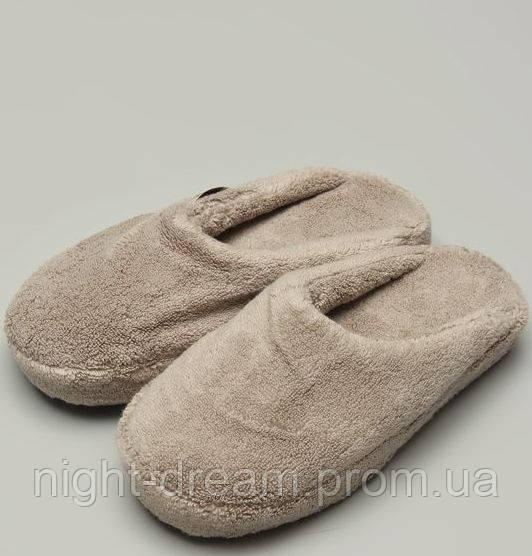 Махровые тапочки SULTAN  от Hamam FLAX размер 38-39
