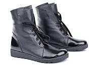 Кожаные ботинки Origin на байке