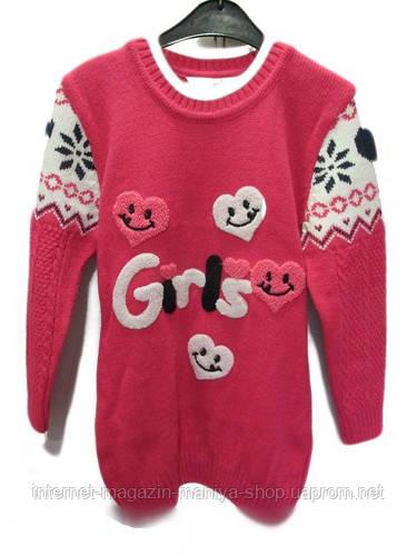 Детский свитер-туника на девочку