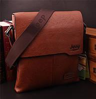 Мужская сумка JEEP. Высокое качество. Кожаная сумка. Доступная цена. Интернет магазин сумок. Код: КЕ161