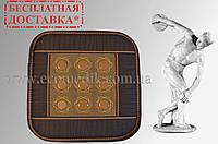 Турмалиновый коврик с нефритом (9 камней)