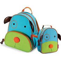 Рюкзак детский Skip Hop Zoo собачка + ланчбокс. Оригинал.