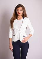 Молодежный пиджак с четверным рукавом
