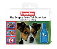 Beaphar (Беафар) Капли против блох и клещей для малых пород собак 3шт
