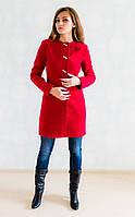 Необычное по крою женское пальто из кашемира