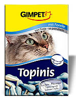 Gimpet (Джимпет) Витамины для кошек Topinis, рыба 190таб