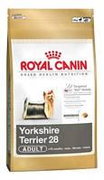 Royal Canin (Роял Канин) Сухой корм для йоркширского терьера Yorkshire 28, 7,5кг (от 10 мес)