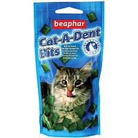 Beaphar (Беафар) Подушечки для чистки зубов Cat a Dent Bits 75шт