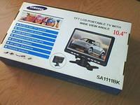 """Телевизор - медиацентр (+FM) со встроенной батареей супер плоский 10.4"""""""