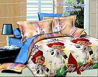 """Детский комплект постельного белья 1,5 спальный """"Мистер Пибоди и Шерман"""""""