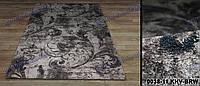 Ворсовой ковер Шегги Tunis цветочный(серый)
