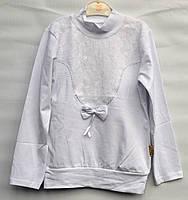 Красивая кофта-туника для девочки 9-12 лет модель - 104106