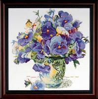 """Набор для вышивки цветов """"Букет"""" (Pansy Floral)"""