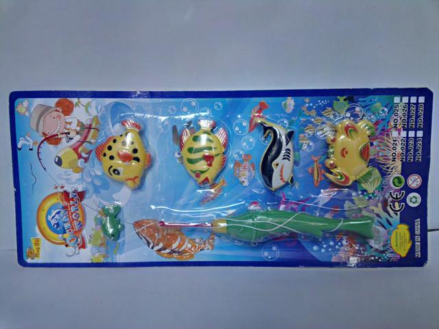детская игрушка рыбалка на магнитах в воде