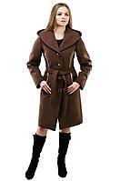 Пальто зимнее с капюшоном из качественного турецкого кашемира размеры 44,46,48,50,52,54