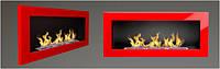 Біокамін настінний 900x400. 5 кольорів