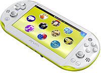 PS Vita slim(белая+лайм)
