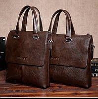 Деловая сумка-портфель DANTEN'S. Сумка для документов, ноутбука. Высокое качество. Код: КЕ168
