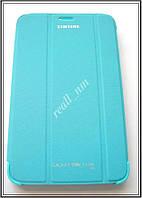 Бирюзовый чехол-книжка Book Cover для Samsung Galaxy Tab 3 7.0 Lite T110 T111 T113 T116