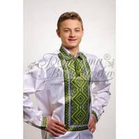 СЧ-016 Сорочка мужская (заготовка под вышивку бисером, крестом)