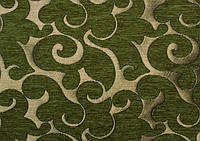 Мебельная ткань Acril 50% Флори ДК грин