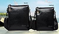 Мужская сумка-мессенджер DANJUE. Высокое качество. Кожаная сумка. Доступная цена. Интернет магазин. Код: КЕ172