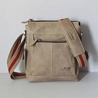 Компактная мужская сумка JEEP. Высокое качество. Доступная цена. Интернет магазин. Натуральная кожа. Код:КЕ173
