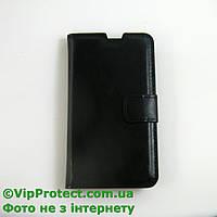 Lenovo A390 черный чехол-книжка на телефон
