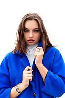 Женское стильное пальто из кашемира. Цвет электрик ,малиновый,желтый.Размер 42-44,46-48,50-52,52-54.VM 1010
