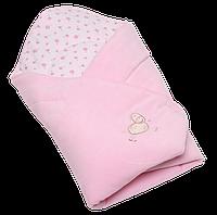 Конверт для новородженных на выписку №3 вилюр, Womar