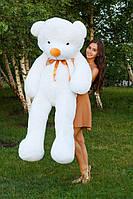 Тедди 180 см. Белый, большой плюшевый мишка