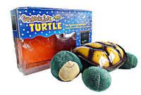Черепаха ночник-проектор звездного неба музыкальная SparKling Turtle с USB