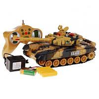 Детский боевой танк на радиоуправлении 9993