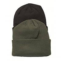 Вязаная акриловая шапка MilTec Olive 12133001