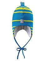 Зимняя детская шапка для мальчика Reima Canopus AUVA 518241-7890. Размер 46, 48, 50 и 52.