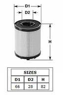 Фильтр масла Fiat Doblo 1.3 MJTD H=85mm