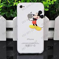 """Оригинальная Пластиковая задняя панель """"Микки Маус"""" для Iphone 4 Милая Панель Mickey Mouse для Вашего айфона"""