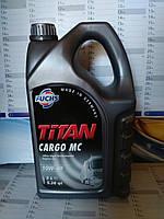 Моторное масло FUCHS TITAN CARGO MC 10W-40 (5л.) для дизельных двигателей грузовиков