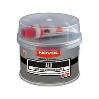 Шпатлёвка с алюминием NOVOL ALU 0,25 кг.
