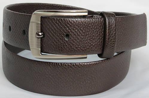 Ремень под брюки мужской коричневый 3019 ДхШ: 118х4 см.